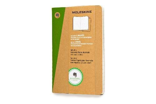 Moleskine Evernote Journal With Smart Stickers, Pocket, (se