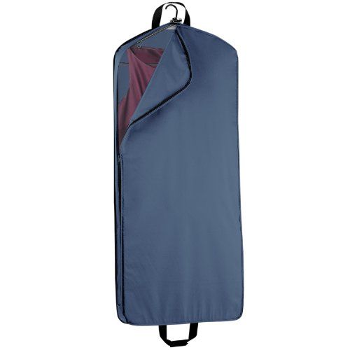 WallyBags 52-inch Dress Length, Carry-On, XL Garment Bag with Two Pockets and Extra Capacity by Wally Bags (Image #1)'