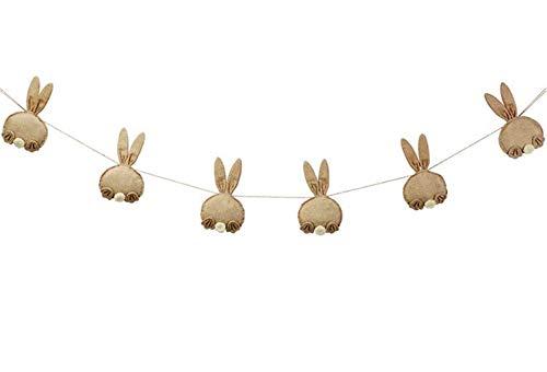 Bunny Butt Easter Banner -