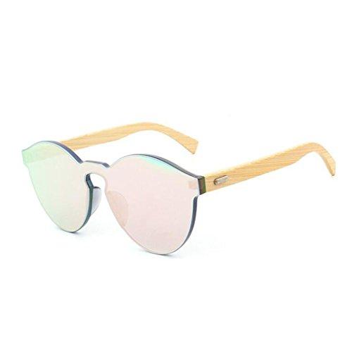 Resina Salvaje Pies De Calidad Lentes De Z Color Gafas De Wayfarer Sin Sol Bambú Marco Green Caramelo De Gran Marco Gafas Alta Personalidad Pink amp;HA wXtzrtHUqZ