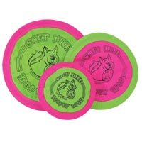 Floppy Disc 7-Inch Original Classic Style Soft Bite DiscToy for Dogs, Small