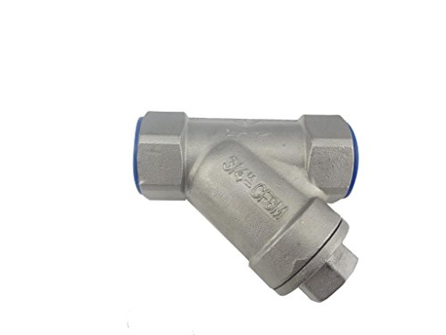 MISOL 10PCS of 3/4'' ( NPT ) DN20 stainless steel Y Type Strainer Valve by MISOL