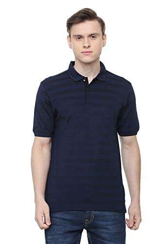 Allen Solly Men's Plain Regular fit T-Shirt