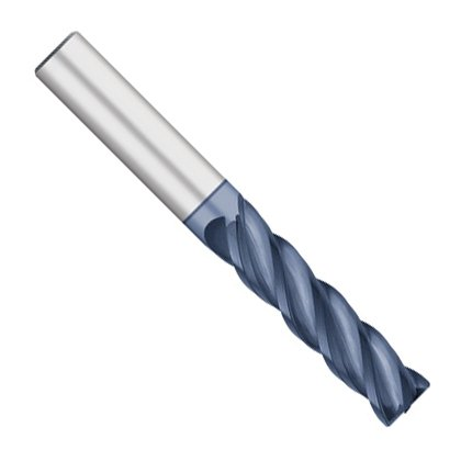 4 Flute 2-1//4 Length of Cut 3//4 Shank Kodiak Cutting Tools KODIAK248516 High Performance VI-Pro Variable Solid Carbide Index End Mill .060 Corner Radius Alcro-Max Coated 5 Overall Length USA Made