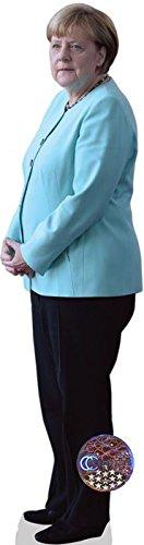 Celebrity Cutouts Angela Merkel Pappaufsteller lebensgross