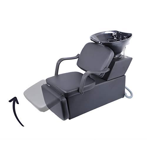 Constructive Recliner Salon Shampoo Hairdressing Backwash Chair Bowl Equipment Hairdressing Salon & Spa Equipment