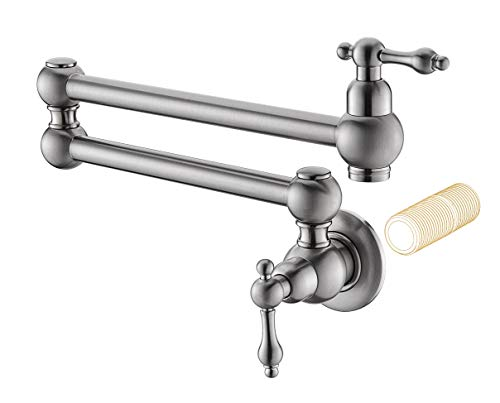 Havin HV1003 Pot Filler Folding Faucet Brushed Nickel Stretc