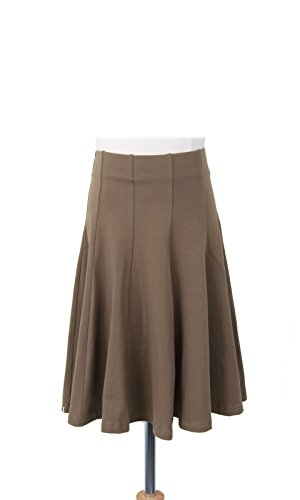 BGDK Girls Uniform Cotton Pleated Panel Skirtmartiniolive 8 ()