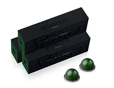 Nespresso Capsules VertuoLine, Stormio, Dark Roast Coffee, 30 Count Coffee Pods, Brews 7.8oz by Nespresso Pods