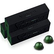 Nespresso Capsules VertuoLine, Stormio, Dark Roast Coffee, 30 Count Coffee Pods, Brews 7.8oz