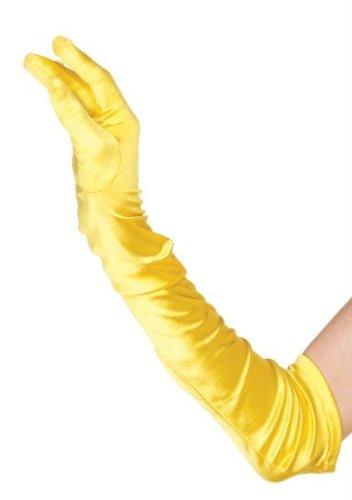 arriva vendita ufficiale nuovo stile del 2019 Guanti gialli lunghi per Belle: Amazon.it: Giochi e giocattoli