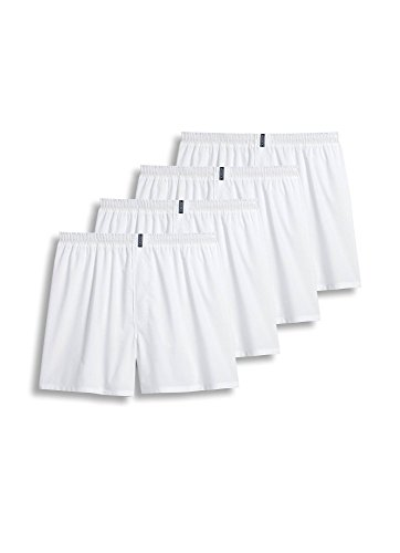 (Jockey Men's Underwear Classic Full Cut Boxer - 4 Pack, White, XL )