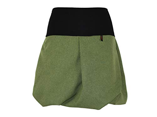 Grün 45cm Para Design Mujer Dunkle Meliert Falda Globo qwXYqp6