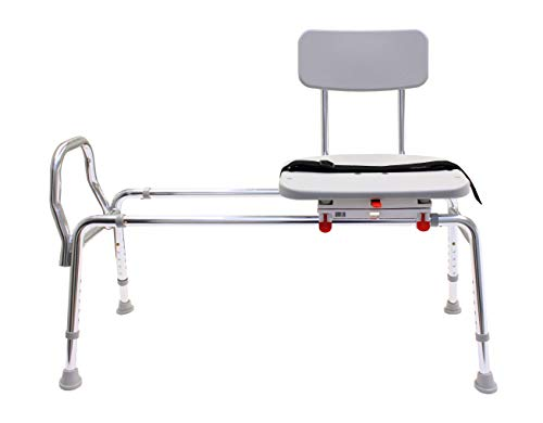 EagleHealth Swivel Sliding Bath Bench (Long) 77682