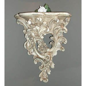 Hickory Manor 2029-GS English Rose Bracket - Gilt Silver Finish