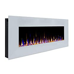 3GPlus Electric Fireplace Wall Mounted Heater by 3GPlus