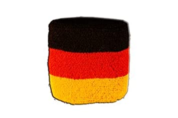 gratis Aufkleber Flaggenfritze Schwei/ßband Motiv Fahne//Flagge Deutschland