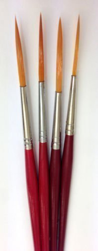 Artists Rigger Brush Set | Pack of 4 Rigger Paint Brushes The Art Shop Skipton