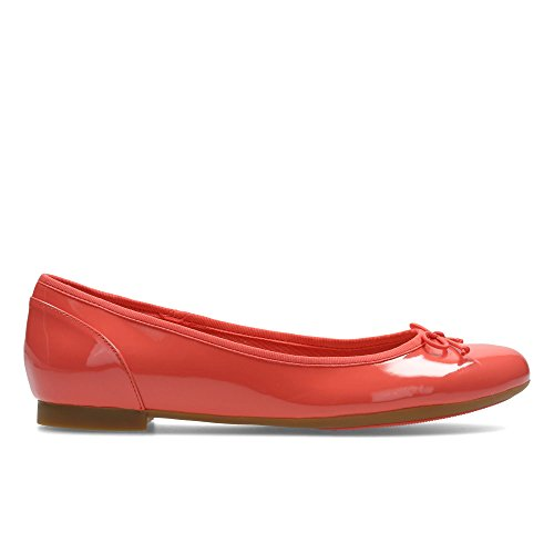 Clarks Couture Bloom, Mocasines para Mujer Coral Patent
