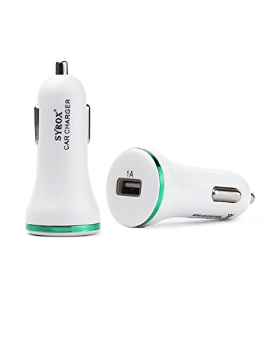 Price comparison product image #1 for LG G6 LG H870 Car Charger, Original ACGoods Mobile USB Fast Quick Charge Quality Android iOS Type C 1.0A Fastest Green White Adapter - 2 Years Warranty
