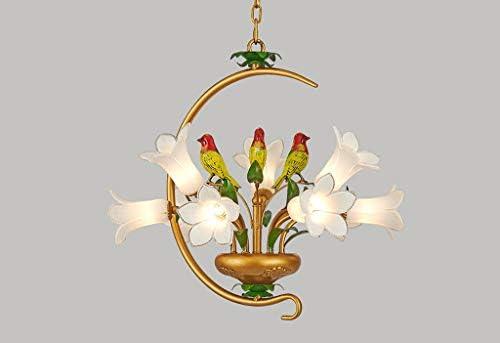 Lampadario a sospensione a LED, stile classico, a forma di