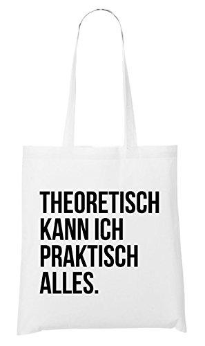 Theoretisch Alles White Praktisch Ich Kann Bag RwqRSgft6