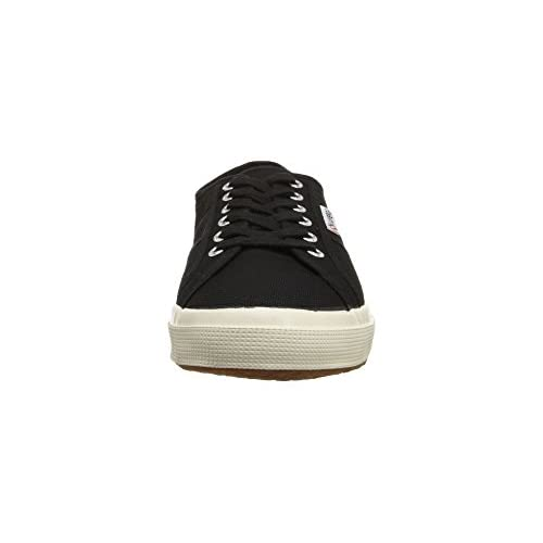 81012ad45bd63a well-wreapped Womens Superga 2750 Cotu Classic Canvas Low Cut Retro  Plimsoll Trainers - Black
