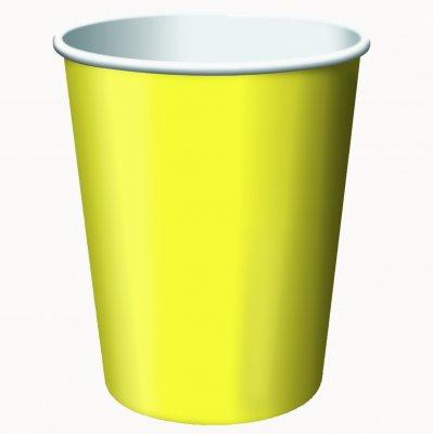 Paper Hot & Cold Cups 9 Ounces 24/Pkg-Mimosa ()