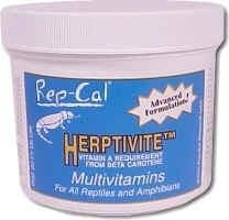 Rep-Cal Research Labs Herptivite Multivitamins 3.3oz by Rep-Cal
