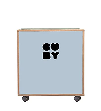 Cuby –  Caja Caja para juguetes sobre ruedas, apilable para estanterí a Sistema blanco blanco puro apilable para estantería Sistema blanco blanco puro Grafinteriors