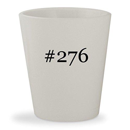 #276 - White Hashtag Ceramic 1.5oz Shot - 65 276 18