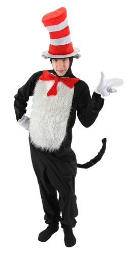 The Cat in the Hat Deluxe Costume Mens -
