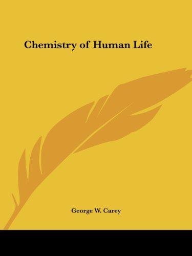 Chemistry of Human Life