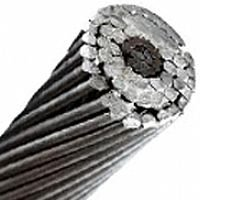 100FT PENGUIN 4/0 AWG Bare Aluminum (Steel Reinforced) Single Bare Overhead Transmission Cable