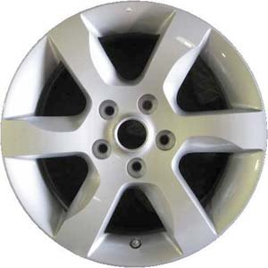 2007-2009 | NISSAN | ALTIMA | 16x7 | 5-114.3 | 6 SPOKE | FACTORY OEM WHEEL RIM | REMANUFACTURED | SILVER | Hollander# 62479 | MPN# - Alloy 5 16x6 Spoke