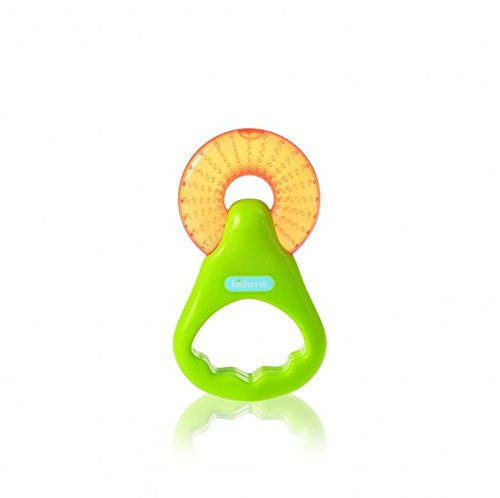 Kidsme Water Filled Ring Soother, Green/Orange 9536