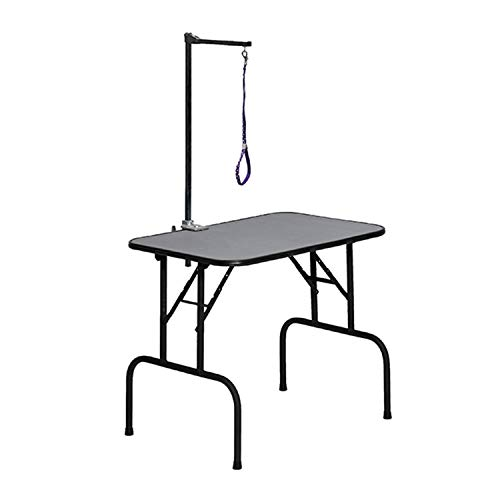 MidWest Homes for Pets G3624A Plywood Grooming Table with G3ZA48 -