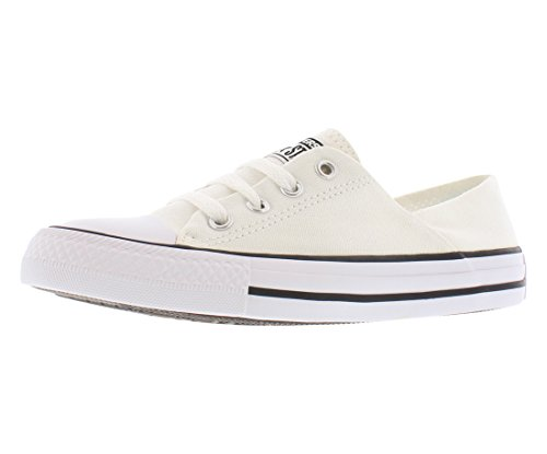 Converse Womens Chuck Taylor All Star Coral Ox White Sneaker - (All Star Ladys)