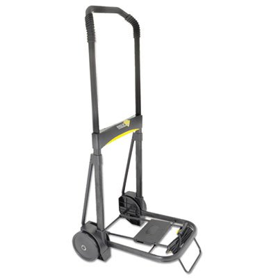 Ultra-Lite Folding Cart, 250lb Capacity, 11 x 13 1/4 Platform, Black, Sold as 1 Each