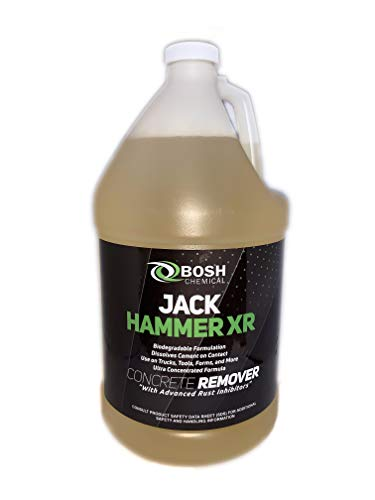 Jack Hammer XR -Makes 10 Gallons!!, Non Toxic Concrete Remover, Cleaner, Safe Muratic Alternative