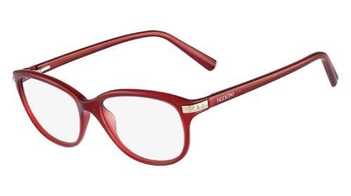VALENTINO Eyeglasses V2652 613 Red - Glasses Eye Valentino
