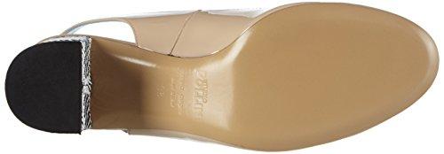 Pollini Scarpad.dd Sq3/55 Vern.Nude/Dom.bn, Zapatos de Baile Salón para Mujer Beige