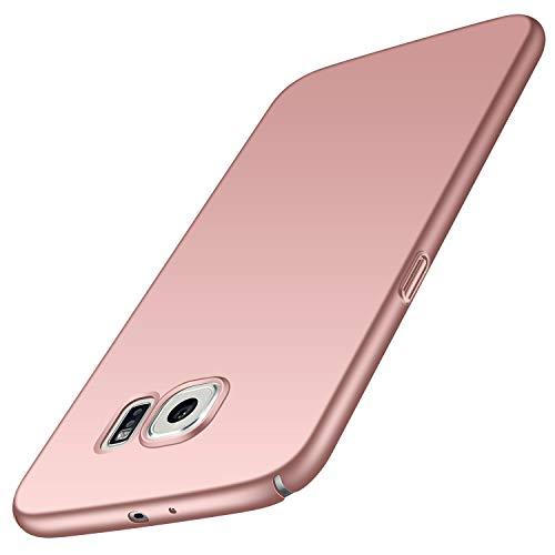 Avalri Samsung Galaxy S6 Case, Ultra Thin Anti-Fingerprint and Minimalist Hard PC Cover for Galaxy S6 (Silky Pink)