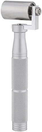 Rullo per carta da parati da 40 mm Rullo a pressione piatto SUNSHINETEK in acciaio inossidabile per cucitura di bordi a mano