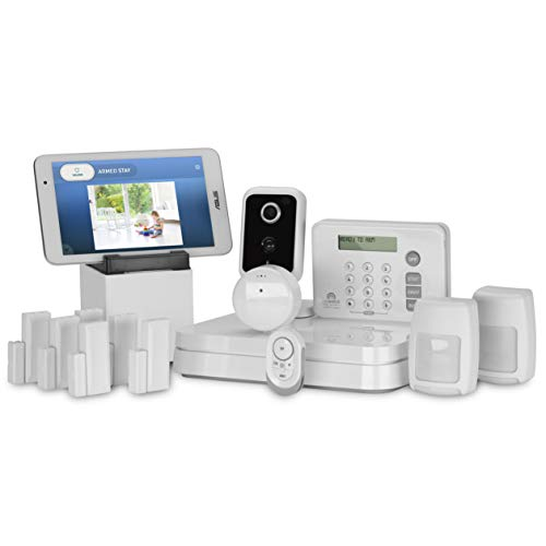 Adt Home Security Systems >> Lifeshield An Adt Company 15 Piece Easy Diy Smart Home Security System Optional 24 7 Monitoring Smart Camera No Contract Wi Fi Enabled