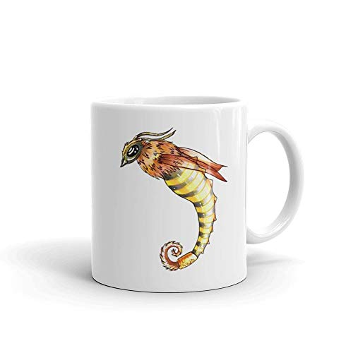 - Mermay2018 collection – Sea Bee 11oz White Ceramic Horse Graphics Cute Coffee Tea Mug Gift For Horse Lover Men Women