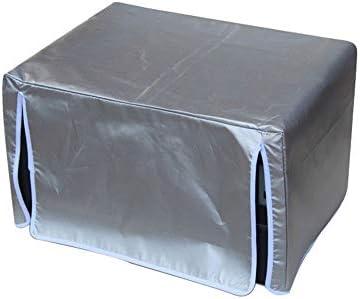 ALGWXQ Cubierta Cubo ratán Muebles de jardín Cubo Rectangular Cubre Jardín Muebles de terraza Cubierta Impermeable Anti-UV Heavy Duty, de Plata, 28 tamaños (Color : A, Size : 70X70X140cm): Amazon.es: Hogar