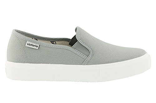 Slip Victoria Adulte Gris Mixte Lona on Baskets Mode Ogq7gwd