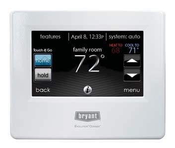 Bryant Evolution Connex Control With WiFi