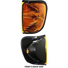 FORD ECONOLINE VAN 04-07 CORNER LAMP LH, Side Marker, Lens & Housing